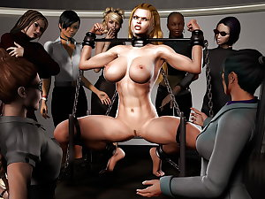art.human.pic-Slave, watching her