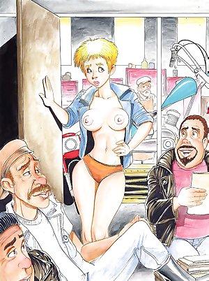 Erotic Cartoons 7 - Adventures of Cuties 2