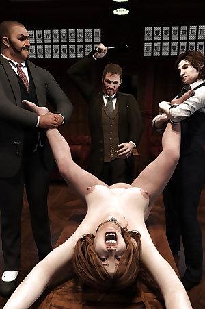art.human.pic-Slave, punished