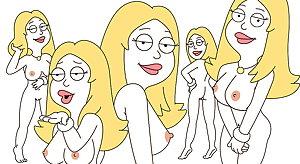 Francine Smith & Lois Griffin. Queens of Cartoon Milfs