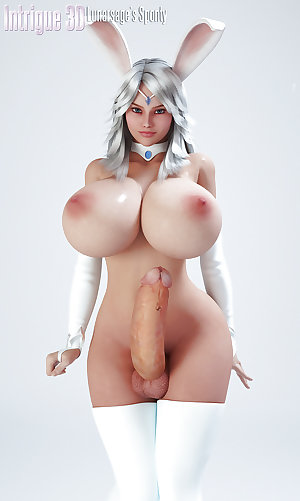 3D Futanari Dick girls