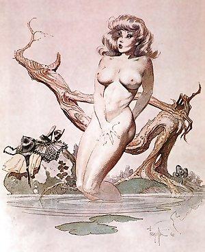 Erotic Fantasy Art 7 - Frank Frazetta
