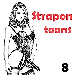 Strapon & Anal play toons (8)