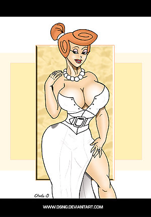Sabre-toothed Cougar Wilma Flintstone