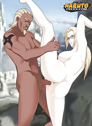Tsunade and her huge tits