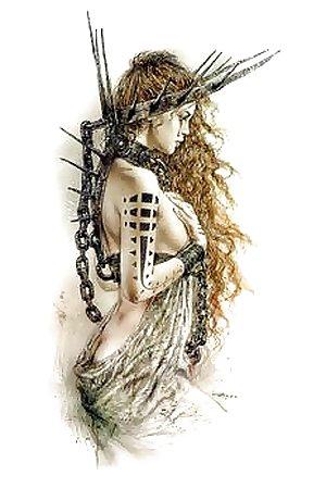The Fantastic Art of Luis Royo...To Celine
