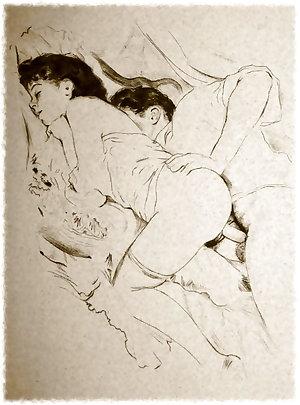 Vintage drawings part 4