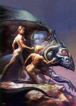 Wings, girls & demons -paul-dom-